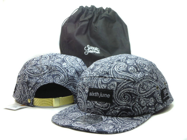 Sixth june Flower Snapbacks Hat SF